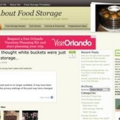 All About Food Storage
