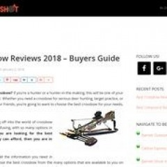Best Crossbow Reviews – Buyers Guide