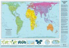 Peters-projection (True size of the Continents)